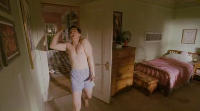 John Leguizamo dancing in The Pest.