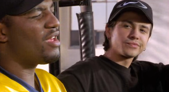 Aries Spears and Freddy Rodriguez in The Pest