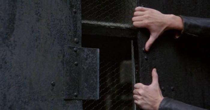 Rapist prying door open