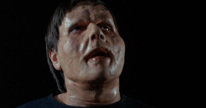 Alien bloating mutation face