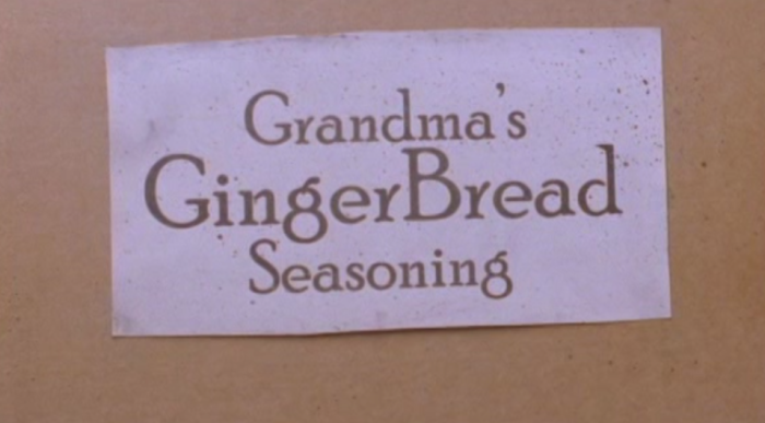 Grandma's Gingerbread Seasoning in Gingerdead Man