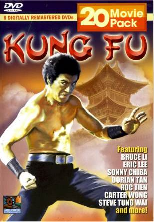 20-movie Kung Fu DVD Pack