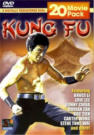 20-movie Kung Fu DVD Pack