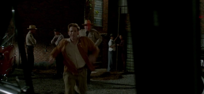 Seth Green running in The Identical