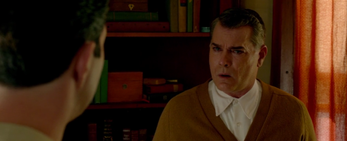 Ray Liotta crying believably in The Identical