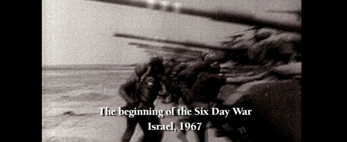 Six-Day War 1967 title card in The Identical