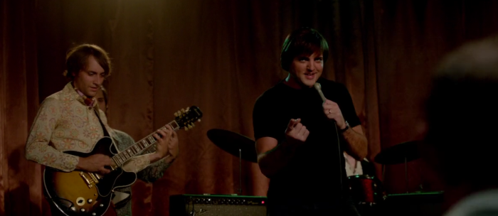 Ryan Wade singing as impersonator in The Identical