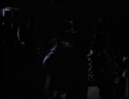 ninja fighting at night