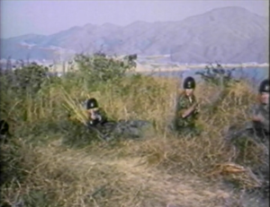 soldiers shooting in ninja empire