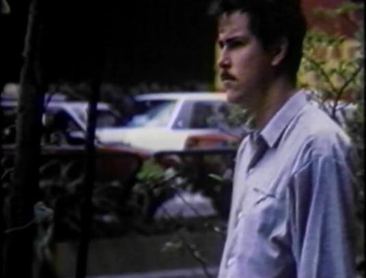 man in blue shirt in hong kong