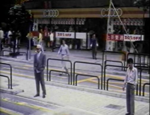 man following guy in street