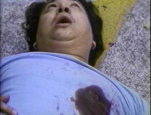 chinese fat man shot dead