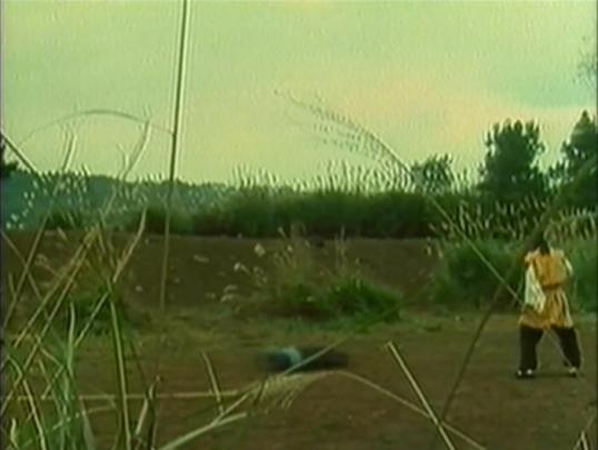man sliding on ground