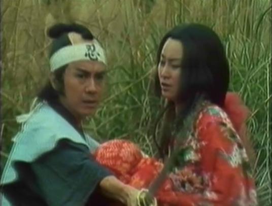 man protecting Chinese princess and baby