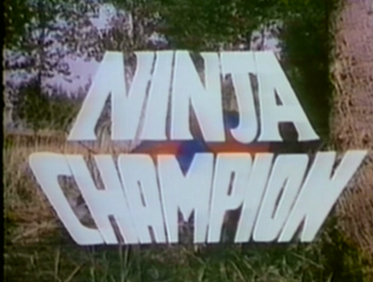 Ninja Champion title screen