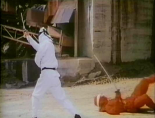 red ninja killed by white ninja