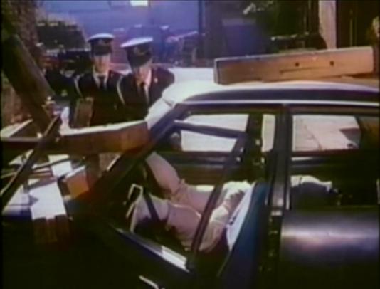 cops at scene of car accident in Ninja Champion
