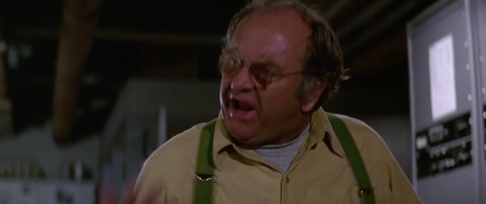Wilford Brimley as Blair in The Thing