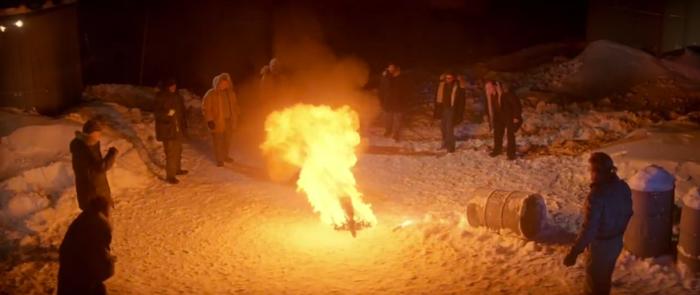 Bennings Thing burning