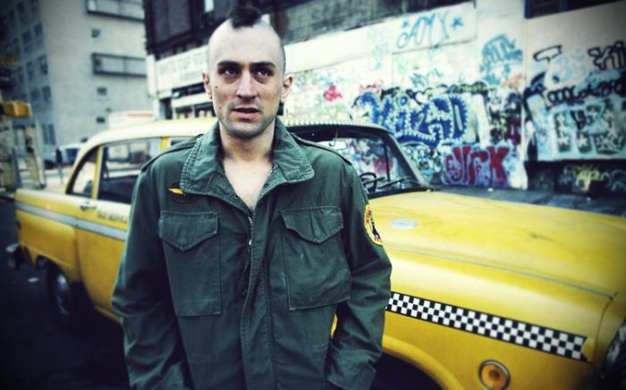 travis bickle in taxi driver