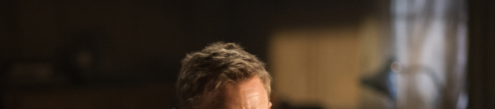 Bond's forehead in Quantum of Solace