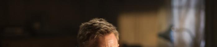 Bond's forehead in Quantum of Solace