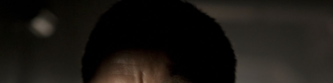 Daniel Craig's forehead in the shadows