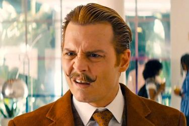 Johnny Depp as Mortdecai