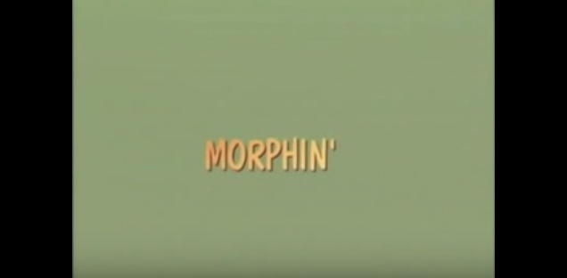 Morphin' title screen