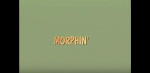 Morphin' title screen