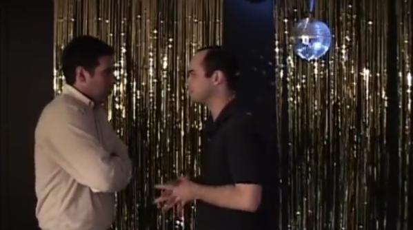 male strip club in Ben & Arthur